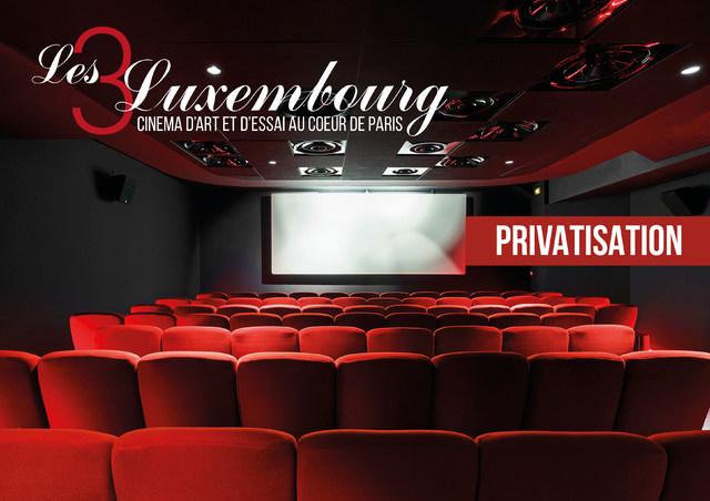 Espace Pro au Cinéma Paris - Les 9 Luxembourg