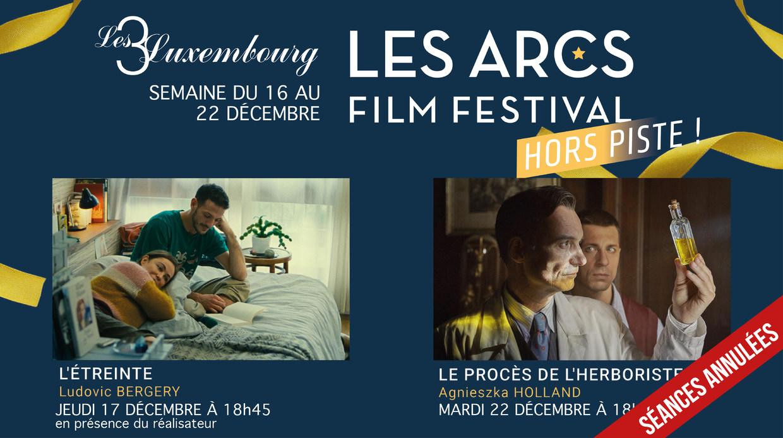 LES ARCS FILM FESTIVAL : 16 AU 22