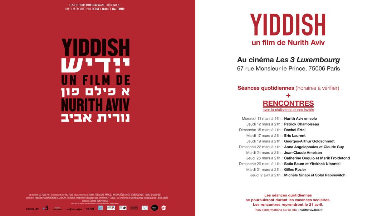 Photo du film Yiddish